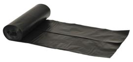Afvalzakken 55x103x0.032 Saekko Boy zwart HDK ( 240 stuks )