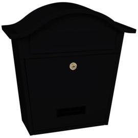 Wandbrievenbus Tatifan 362x133x370mm zwart