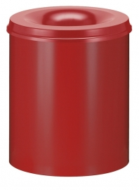Vlamdovende papierbak rood - 80 liter