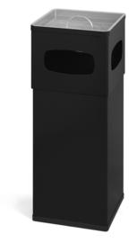Aluminium as-papierbak zwart - 50 liter