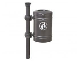 Afvalbak Procity met Forum top staal - 40 liter