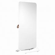 Chameleon Mobile dubbelzijdig whiteboard 890x1920mm wit/ frame wit