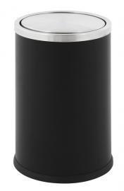Papierbak Swing zwart - 10 liter