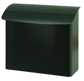 Stalen brandveilige brievenbus 415x160x420mm groen