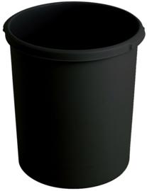 Kunststof papierbak zwart - 30 liter