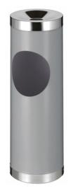 Robuuste as-papierbak aluminiumgrijs - 30 liter