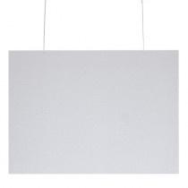 Klantenscherm Hangend - 97 x 73 cm - Transparant