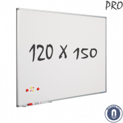 Whiteboard 1200x1500mm magnetisch emaille pro