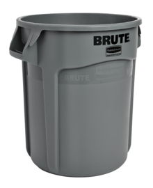 Ronde Brute container, Rubbermaid grijs  - 75,7 liter