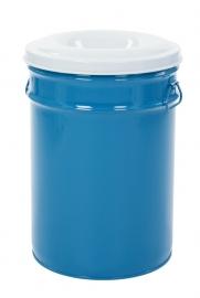 Vlamdovende papierbak blauw/ grijs - 60 liter