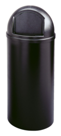 Marshal Container, Rubbermaid zwart - 94,6 liter