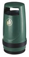 Afvalbak Merlin groen - 90 liter