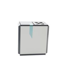 RecycloStar 2 met bekerinzet - 2 x 55 liter