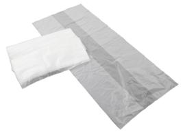 Containerzakken 65/25x150x0.030 transparant ( 50 stuks )
