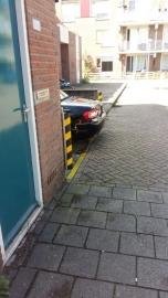 Extra bescherming auto parkeerplaats