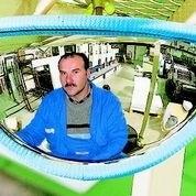 Heftruckspiegel Vumax 410 P.A.S. 288x68x151mm