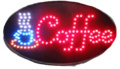 LED bord 480x250x22mm COFFEE