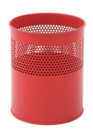 Half geperforeerde papierbak rood - 10 liter