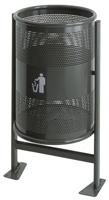 Afvalbak op statief kantelbaar - 60 liter