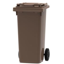 Mini container bruin - 120 liter