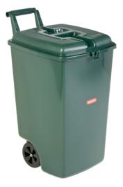 Verrijdbare afvalbak - 90 liter
