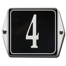 Emaille huisnummerbord model HO-46