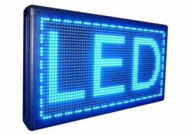 LED lichtkrant 1330x238x70mm ( WINDOW )