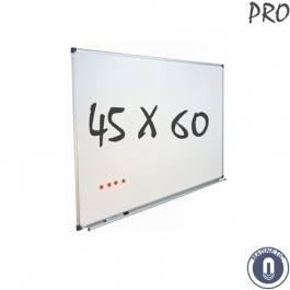 Whiteboard 450x600mm magnetisch emaille pro