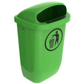 Afvalbak DIN-PK lime groen - 50 liter