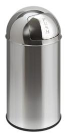 Pushcan RVS, EKO - 40 liter