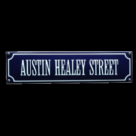 Emaille bord Austin Healey Street 330x80mm