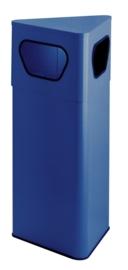 Driehoekige papierbak blauw - 50 liter
