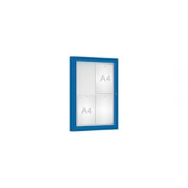 vitrine Klassiek vleugeldeur 550x750x58mm