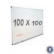Whiteboard 1000x1000mm magnetisch