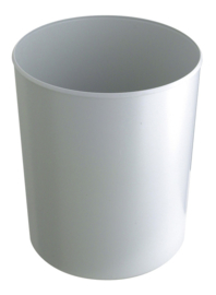 Vuurbestendige papierbak grijs - 20 liter