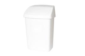Afvalbak met tuimeldeksel, Rubbermaid - 10 liter