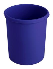 Kunststof papierbak blauw - 30 liter