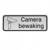 camerabewaking 400x150mm geperst aluminium