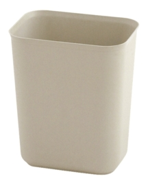 Vuurbestendige papierbak, Rubbermaid beige - 6,6 liter