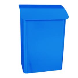 Wandbrievenbus Lugon 291x170x424mm blauw
