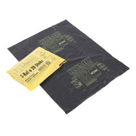 Afvalzakken 60x80x0.050 KOMO ( 240 stuks )