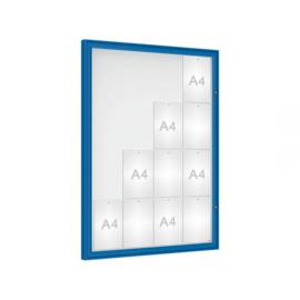 vitrine Klassiek vleugeldeur 1000x1350x58mm