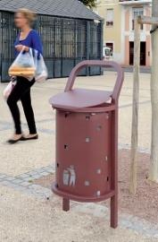 Afvalbak Convi staal - 50 liter