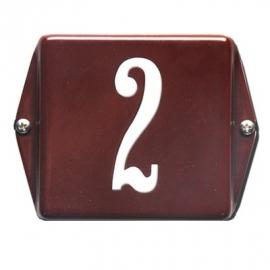 Emaille huisnummerbord model HO-31