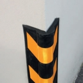 stootband kunststof afgeronde hoek