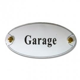 Emaille naamplaatje Garage