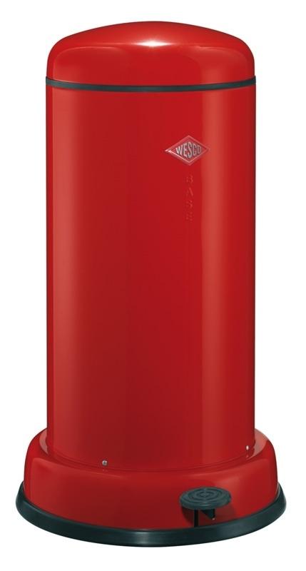 Wesco Baseboy 20 Liter Rood.Baseboy Wesco Rood 20 Liter Pedaalemmer 20 Tot 30 Liter