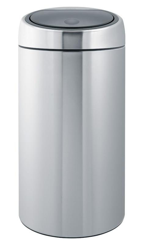 Brabantia Touch Bin 50 Liter Rvs.Touch Bin Brabantia Mat Rvs 45 Liter Afvalbak Met Push