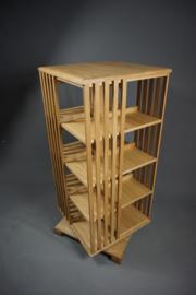 Hoge Eiken boekenmolen 2-5 etages Blad 55cm