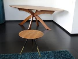 Ovale Bamboe tafel 'Belle Gambe'